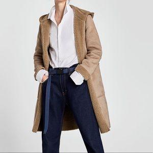 Zara reversible coat